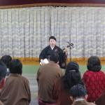 月岡祐紀子さんの瞽女唄ライブ